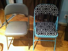 Upcycle folding chair
