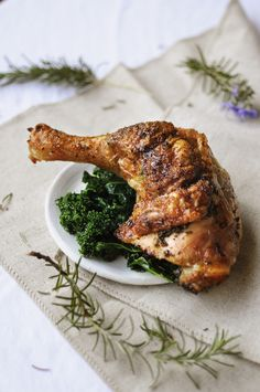 6. Rosemary Butter Chicken