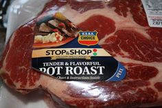 Pot roast slow cooker recipe