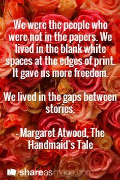 handmaids tale essays