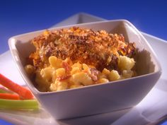 Buffalo Chicken Macaroni and Cheese from FoodNetwork.com