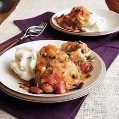 Mediterranean Chicken - 105 Favorite Slow-Cooker Recipes - Cooking Light