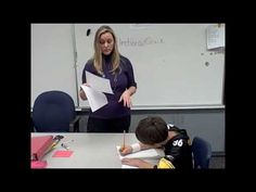 Expected and unexpected classroom behavior & interrupting.