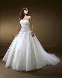 #dream #wedding #dress #poofy #beaded #beautiful