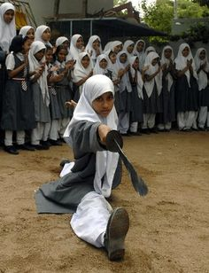 Hyderabad Girls Practising Chinese Martial Art Wushu In Hijabs | Wacky Wanderlust