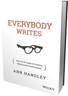 Join Ann Handley (@marketingprofs) for a Special Author Q&A Today king content, market stuff, creat ridicul, goto guid