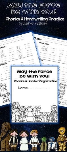 Handwriting practice to start the school year off right!