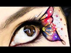 Halloween Butterfly makeup