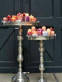 Candle centerpiece Love candles? Shop online at www.PartyLite.biz/NikkiHendrix