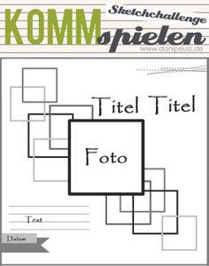 #KommSpielen Sketchchallenge | Sketch von Ulrike Ahlers für www.danipeuss.de