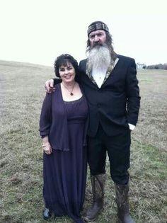 Duck Dynastys Phil & Miss Kay