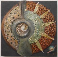 VICKI  GRANT - Homage to Tane Mahuta_ No. 11 contemporari potteri, color patterns