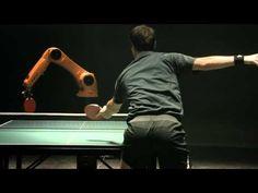 film, face off, beats, robots, table tennis, kuka robot, tennis players, tabl tenni, video