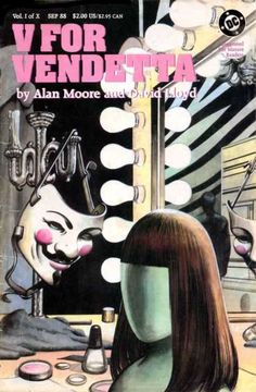 Alan Moore & David Lloyd, 'V for Vendetta' (1982-1985)