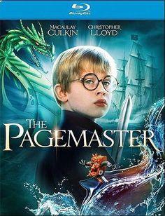 The Pagemaster Blu-Ray
