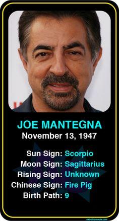 Celeb #Scorpio birthdays: Joe Mantegna's astrology info! Sign up here to see more: https://www.astroconnects.com/galleries/celeb-birthday-gallery/scorpio?start=120  #astrology #horoscope #zodiac #birthchart #natalchart #joemantegna