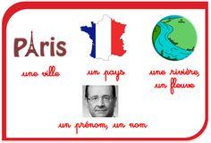 Affiches en Français CP grammair français