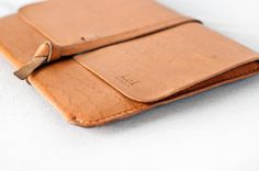 light brown leather ipad case