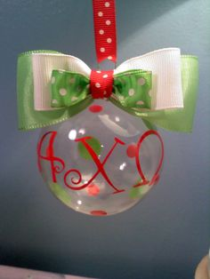 Alpha Chi Omega Ornament