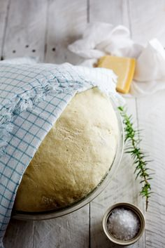 potato, pecorino & rosemary bread | More BREAD RECIPES go here http://pinterest.com/lindyasimus/foodie-breads/