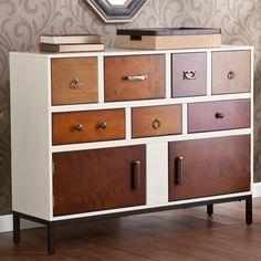 decor, consol, closets, colors, color stain furniture, chest, brass, black, wood grain