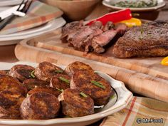 Lone Star Steak and Potatoes - This hearty Texas dinner recipe is even better than what you might order at a restaurant!