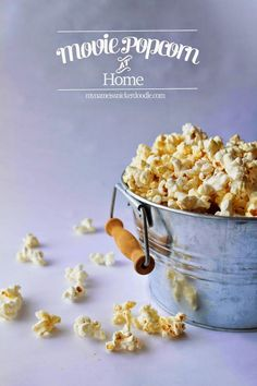 Make Movie Popcorn A