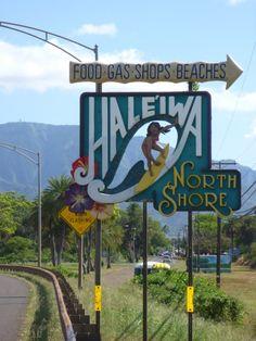 Hale'iwa! North Shore, Hawaii
