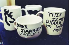 Someone tested different methods for Sharpie baked on mugs! Find out the best way to do this simple craft!
