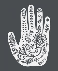 Art Making A Difference.    The meaning of henna on the back of a hand is to shield & protect. Every purchase of this design rescues girls in India from child prostitution. #sevenly