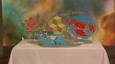 Clinton's Craft Corner: Mosaic Plates! #DIY #Craft