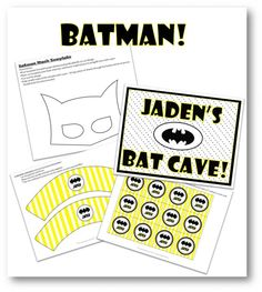 Batman Screenshot Printables