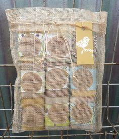 Soap Sampler Bag// Nine Sample Soaps// Natural by orchardfarmsoap, $25.00