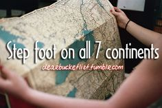 step foot on all 7 continents