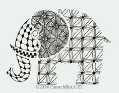 Tangle Mania elephant