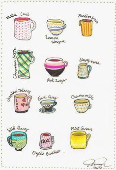 coffe, cup, tea time, food, teas, art, unit state, tea flavor, illustr