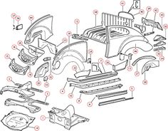 VW Parts — Richard Davies