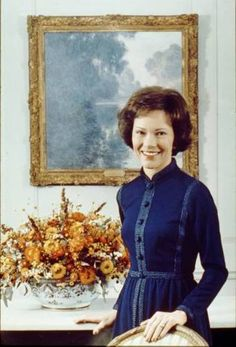 Rosalynn Carter, wife of Jimmy Carter, the 39th president.
