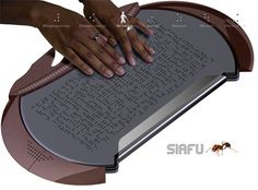 morphing Braille reader for blind readers - Re-pinned by @PediaStaff – Please Visit http://ht.ly/63sNt for all our pediatric therapy pins