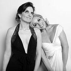 Tina Fey and Jane Krakowski of 30 Rock
