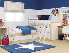 Literas tipo tren literas en ele on pinterest mesas bunk bed and kids and parenting - Habitaciones juveniles tipo tren ...