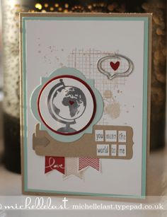 Stampin' Up! Valentine by Michelle L
