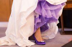 purple petticoat and