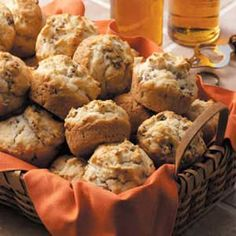 Beer 'n' Brat Biscuits Recipe- Excellent for left over brats or for an easy appetizer!