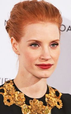 jessica chastain, red carpets, actress award, hair color, broadway actress, actresses