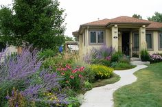 More landscaping ideas - use more flowers!