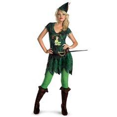 Disguise Inc Sexy Peter Pan Adult Costume --- http://waif.biz/10h