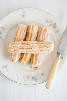Churros con dulce de leche -Euge de la Peña Blog