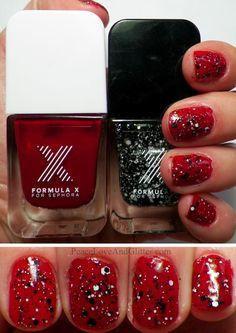 Formula X in Fahrenheit and Chaotic.  Click for review and swatches.  #formulax #sephora #manicure