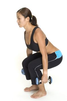 Circuit Style Tight Glutes Workout: chair squats, stiff legged dead lifts, walking lunges, spartan bows, plie dumb bell squats, plyo jump squats 4 rounds - 1st round body weight only, last 3 use weight